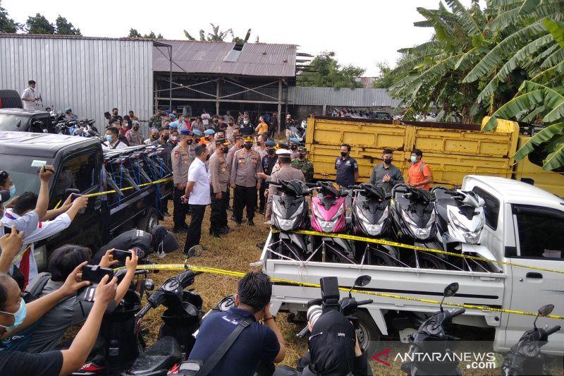 Polres Pati gagalkan ekspor 366 unit sepeda motor dan mobil ke Timor Leste
