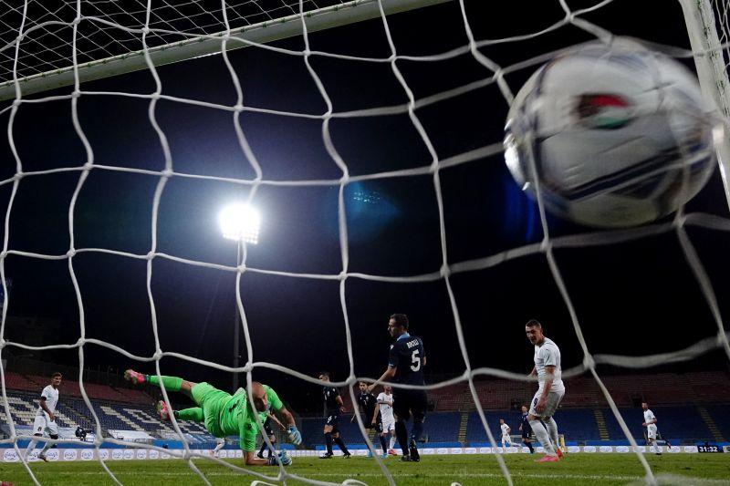 Italia gunduli  San Marino di pertandingan persahabatan