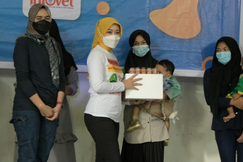 Pemprov Jabar sebar 50.000 telur ayam di Bandung Raya cegah