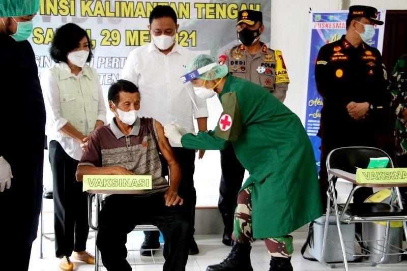 Wagub Kalteng dorong percepatan vaksinasi COVID-19