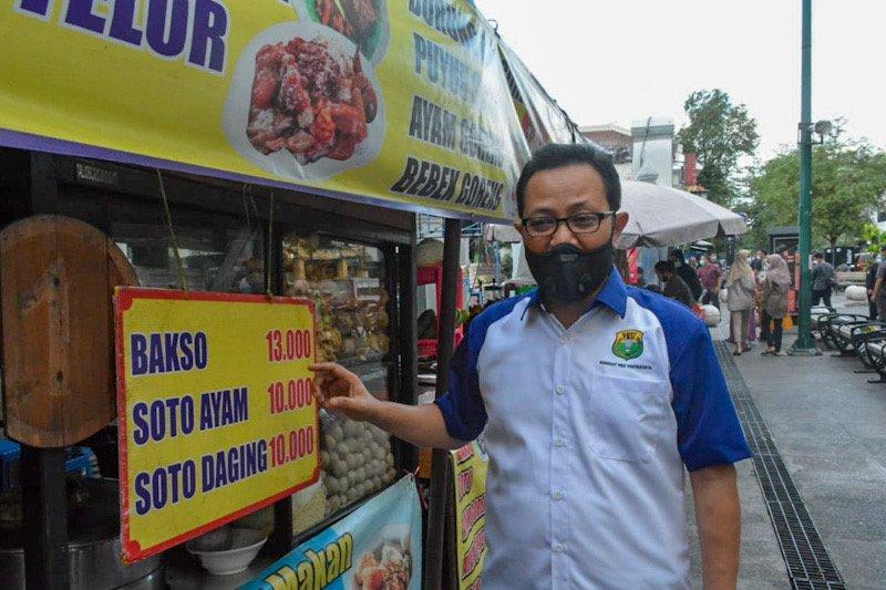 Tiga warung pecel lele di Jalan Perwakilan Malioboro ditutup sementara