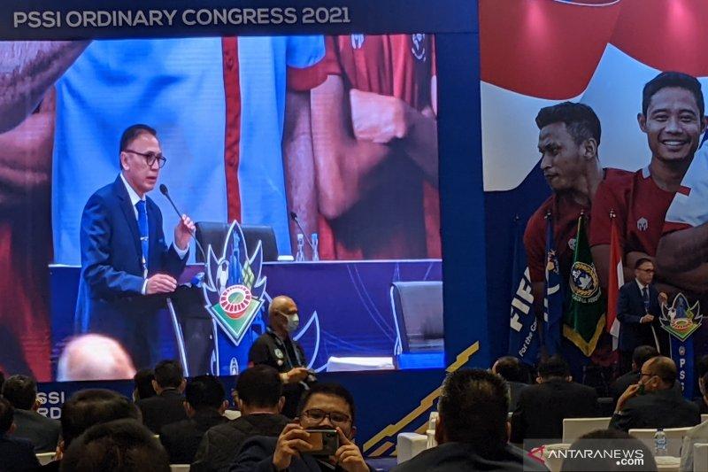 Ketum PSSI beri pujian khusus kepada suporter saat kongres