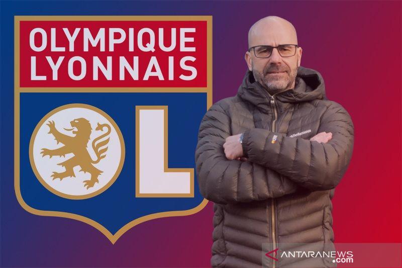 Lyon angkat pelatih  Belanda Peter Bosz