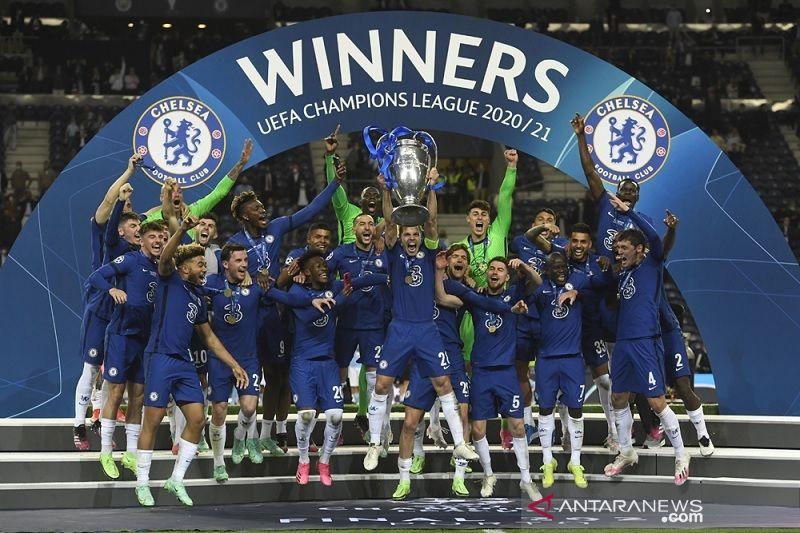 Ini daftar juara Liga Champions,