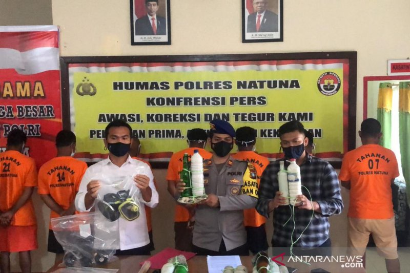 Mantan anggota DPRD Natuna terlibat kasus pengeboman ikan