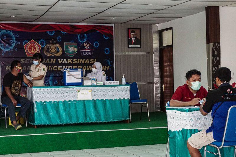 Kelurahan Heram dan Yabansai di Kota Jayapura zona merah COVID-19