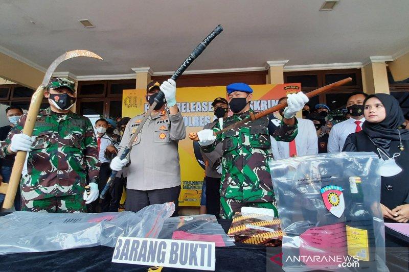 Preman penantang perwira TNI di Garut diancam hukuman 10 tahun penjara
