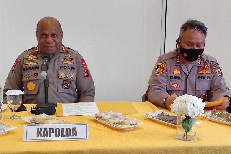 Polda Papua tahan Kepala BPKAD Mamberamo Raya diduga korupsi dana COVID-19