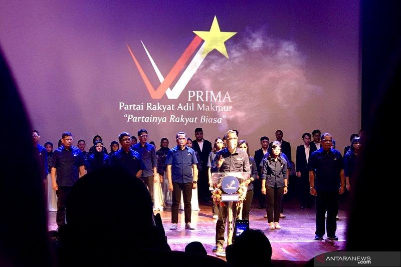 Pengurus PRD deklarasi partai baru PRIMA usung visi politik sejahtera