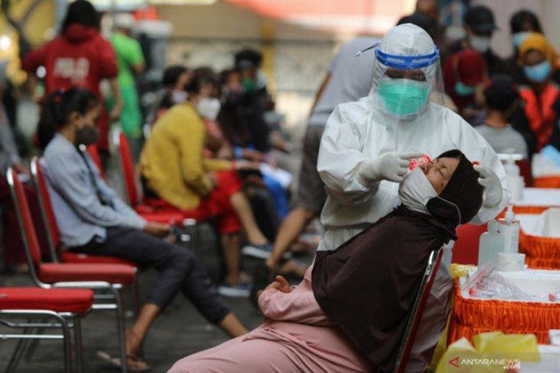 Jumlah kasus aktif COVID-19 Indonesia turun menjadi 101.325