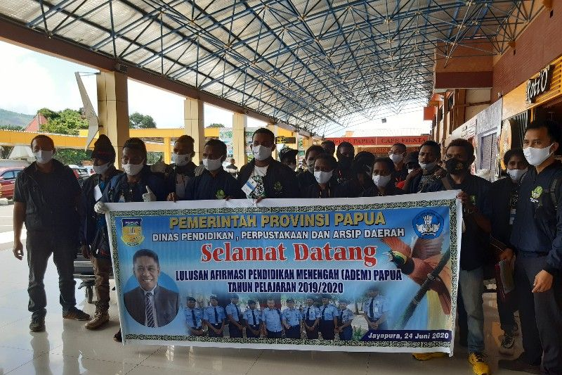 Disdik: 286 peserta ADEM dipulangkan ke Papua