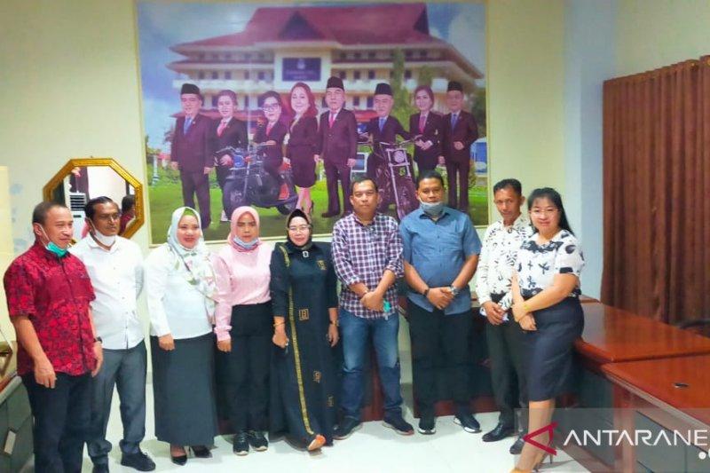 DPRD Gorut studi banding pengelolaan pariwisata saat COVID-19 di Manado