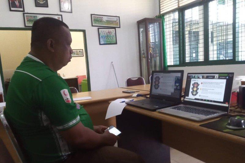 PSMS Medan sampaikan lima poin penting dalam rapat virtual PSSI