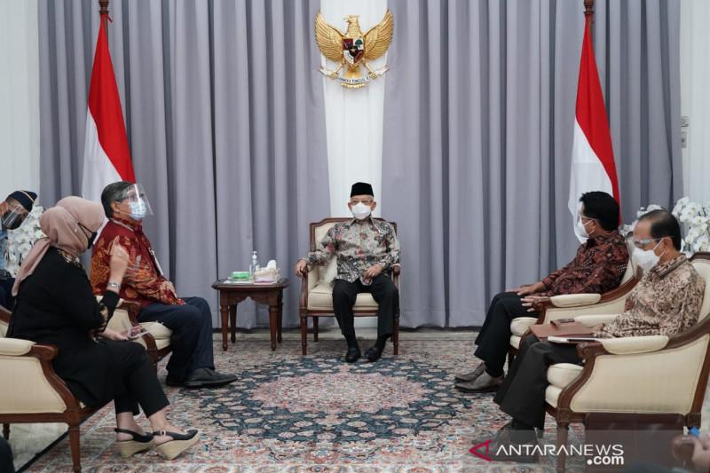 Wapres Ma'ruf Amin optimistis Indonesia jadi produsen halal terbesar dunia