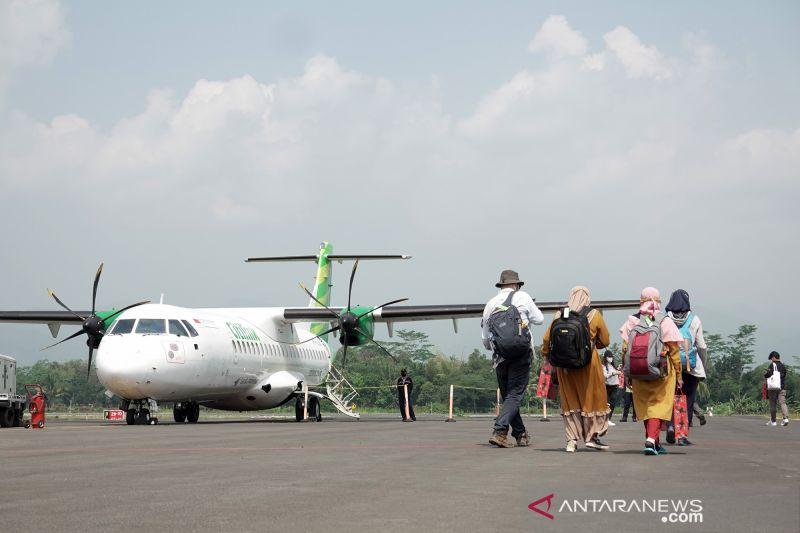 Presiden Joko Widodo tinjau Bandara Jenderal Besar Soedirman Purbalingga