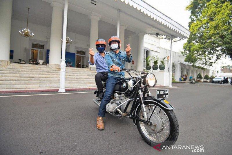 AHY safari politik ke Bandung temui Kang Emil hingga warga Soreang