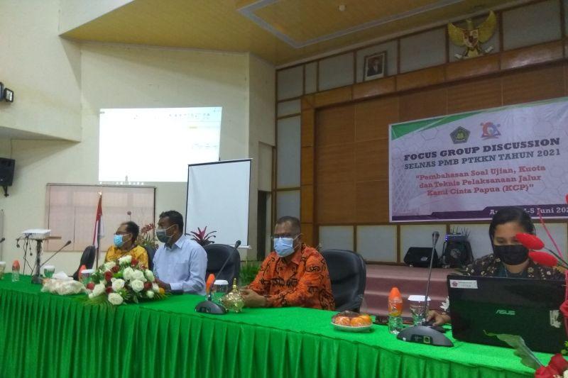 Dirjen Binmas Kristen Kemenag bahas masalah pendidikan Papua di Ambon