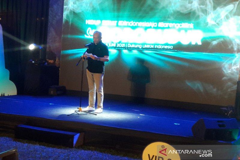 Citilink mendukung pariwisata olahraga melalui gowes Yogyakarta-Borobudur