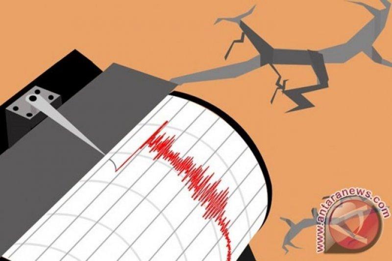 Gempa magnitudo 5,4 di barat Ternate tidak berpotensi tsunami