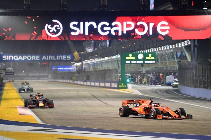 Grand Prix F1 Singapura dibatalkan karena pandemi COVID-19