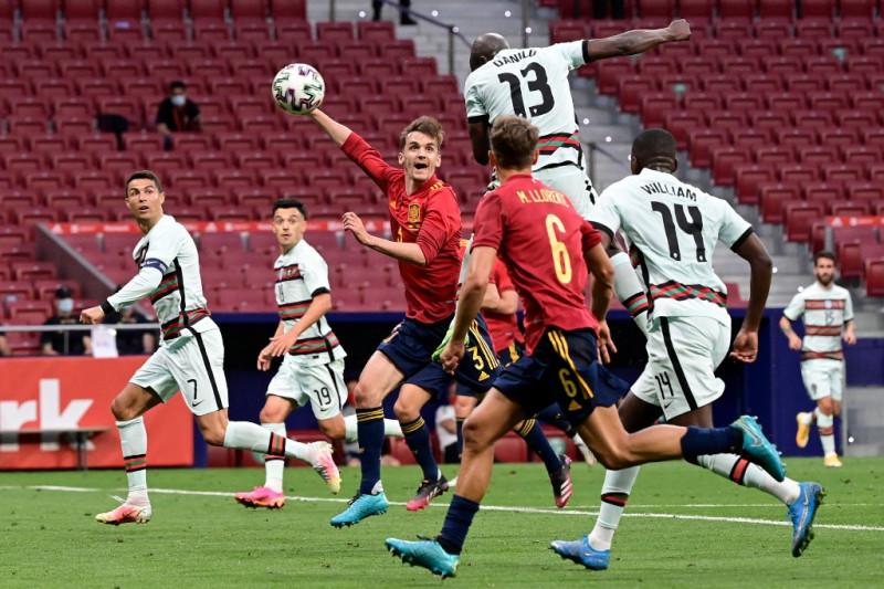 Spanyol-Portugal imbang 0-0 saat laga pemanasan jelang Piala Eropa