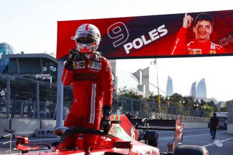 Charles Leclerc rebut 'pole position' di GP Azerbaijan