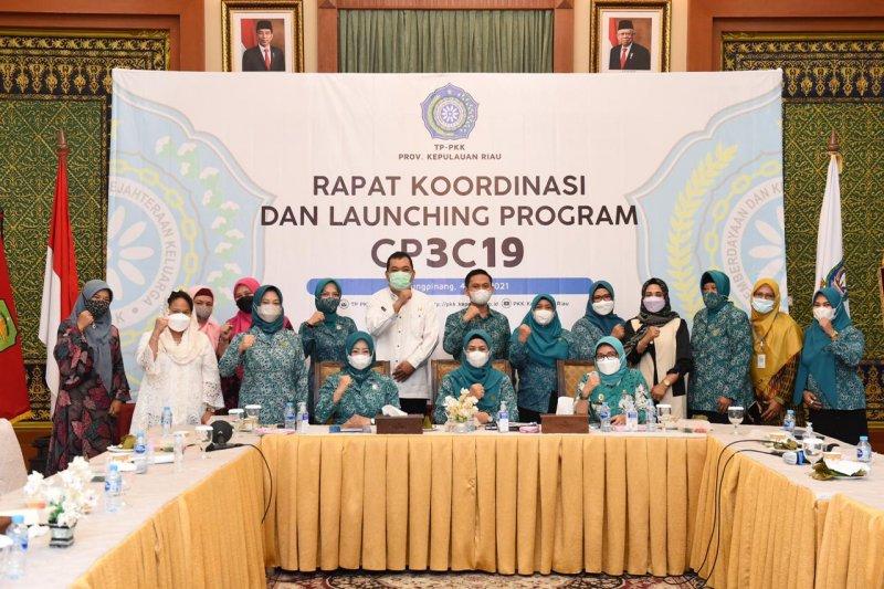 TP PKK Kepri luncurkan gerakan peduli penekanan penyebaran COVID-19
