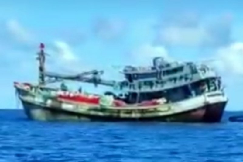 Kapal nelayan Vietnam dan Thailand makin berani menjarah laut Natuna