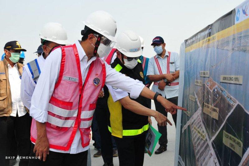 Menhub: Progres pembangunan Pelabuhan Patimban berjalan baik