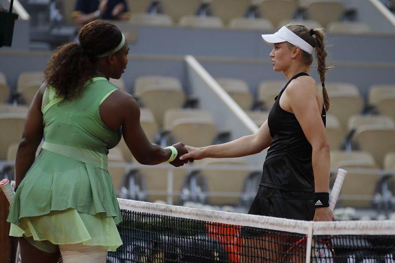 Serena dimatikan Rybakina di babak 16 besar Roland Garros