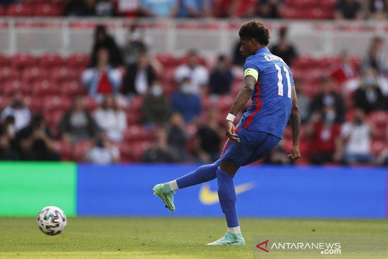 Penalti Rashford sokong Inggris mengalahkan Rumania