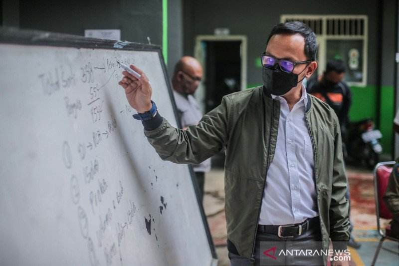 Prokes di Ponpes Bina Madani Kota Bogor diawasi ketat