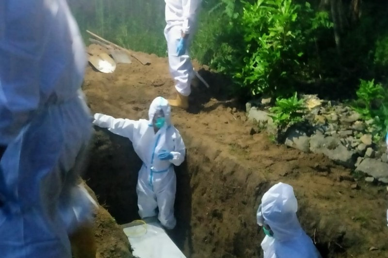 Kasus kematian akibat COVID-19 di Belitung  mencapai 57 orang
