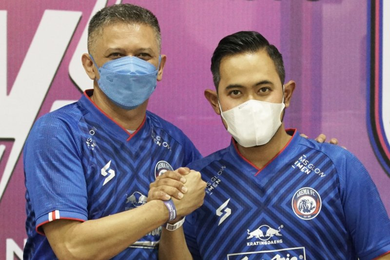 Arema FC tunjuk pengusaha muda Gilang Pramana sebagai presiden klub -  ANTARA News