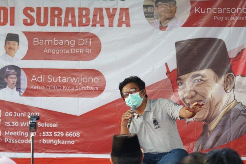 Banyak orang belum tahu Bung Karno lahir di Surabaya, bukan Blitar
