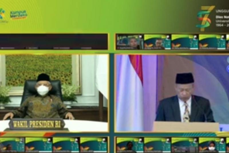 Wapres : Pemikiran Darul Misaq jalan tengah antara Islam dan NKRI