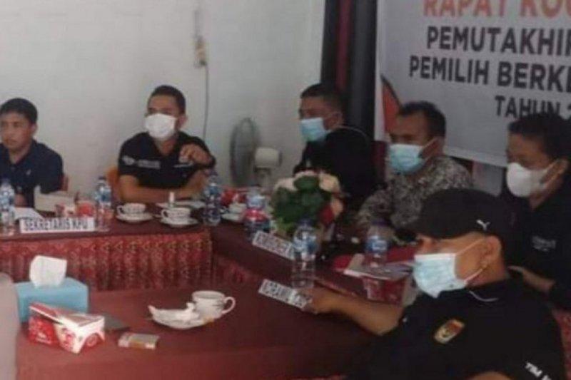 KPU Kepulauan Sitaro tetapkan data pemilih