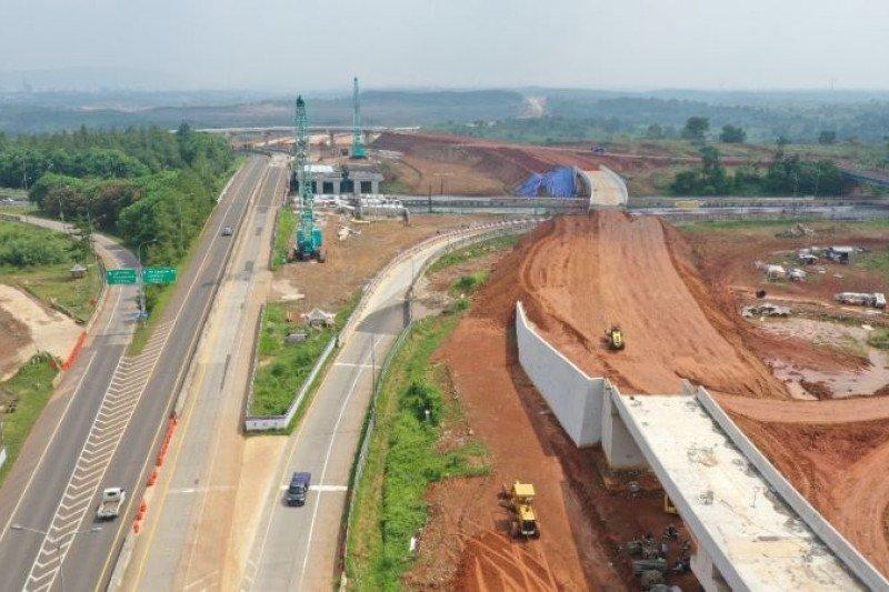 Progres pembebasan lahan Tol Japek II capai 86,62 persen