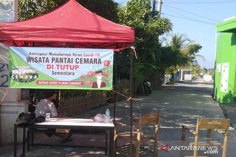 Pantai Cemara Cianjur ditutup karena pedagang positif COVID-19