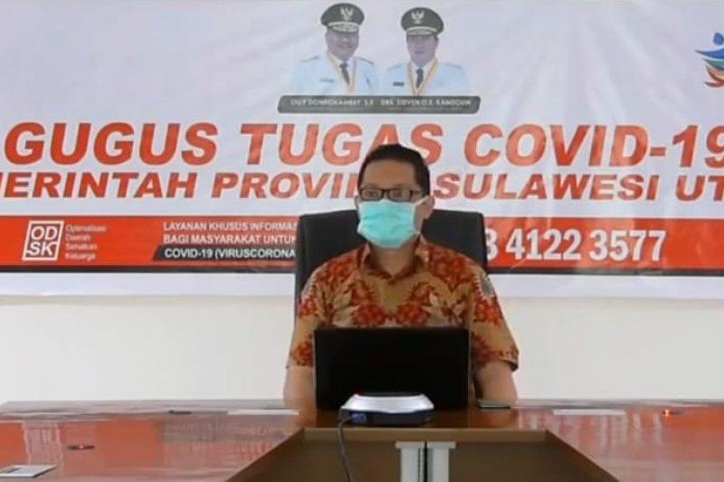 Kasus harian COVID-19 di Sulawesi Utara bertambah tujuh orang