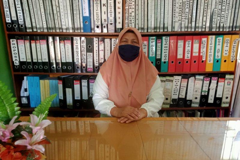 SLB Negeri 1 Panti Pasaman mulai belajar tatap muka dengan protokol kesehatan COVID-19