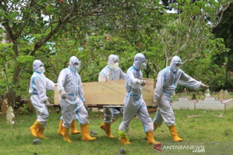 Di Aceh, jumlah total pasien COVID yang meninggal dunia capai 648 orang