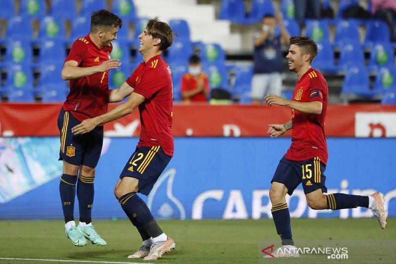 Skuad Spanyol akan vaksin semua pemain jelang EURO 2020