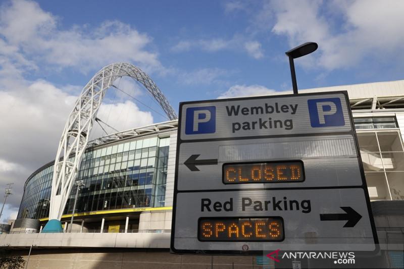 UEFA yakin laga semifinal dan final Piala Eropa bisa digelar di Wembley