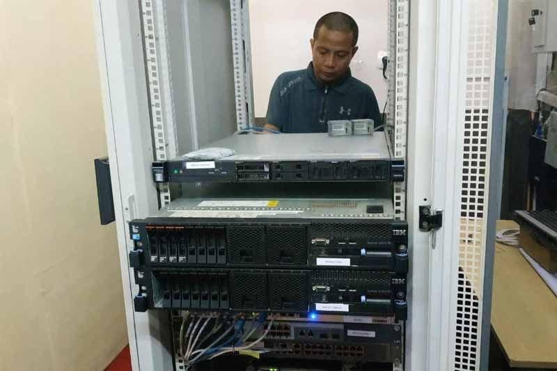 Perangkat server LPSE Bartim alami kerusakan