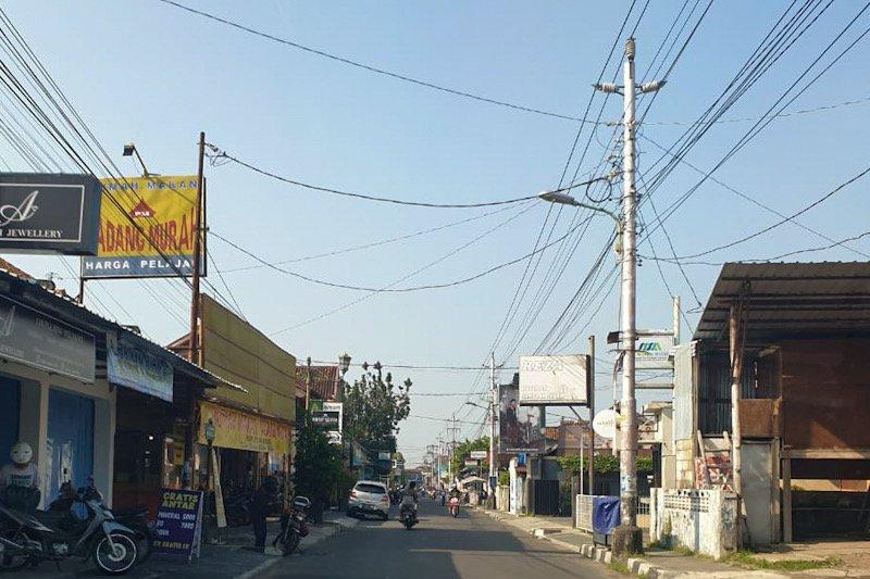Perubahan Jalan Kemasan searah tunggu penataan parkir di Pasar Kotagede