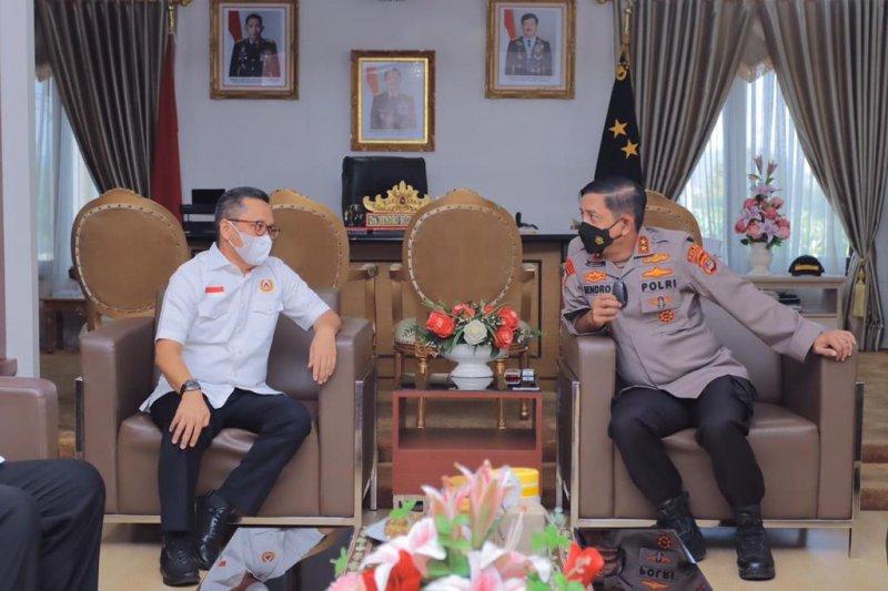 Kapolda Lampung siap dukung kontingen Lampung pada PON XX Papua 2021