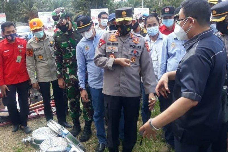 Satgas karhutla tingkatkan kesiapsiagaan di Kabupaten Ogan Komering Ilir