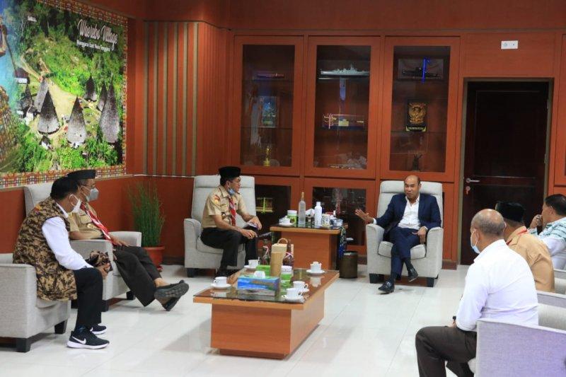 Gubernur NTT minta gerakan Pramuka dibina agar miliki karakter kuat