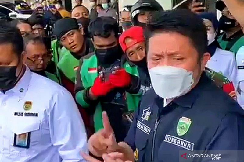 Pengemudi ojek daring adukan persoalan promo BTS Meal,  Gubernur Sumsel ganti kerugian Rp50.000 per orang